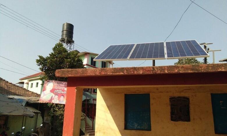 School solar panel