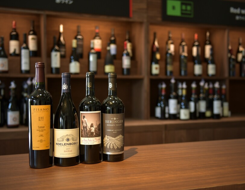 Amazon.co.jpで購入できる赤ワインの一例