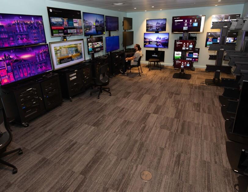Prime Video testing room