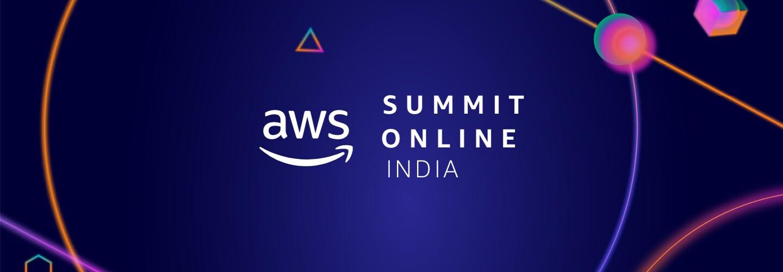 AWS Summit India banner