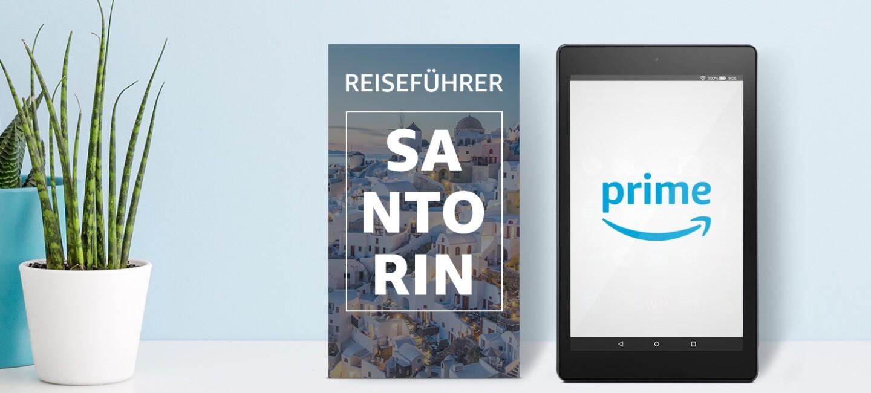 Mit Amazon Prime günstiger in den Urlaub, z. B. nach Santorin