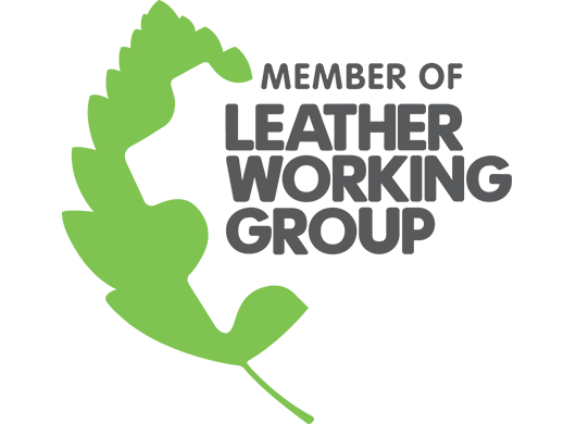 Member of Leather Working Group logo on a white background.