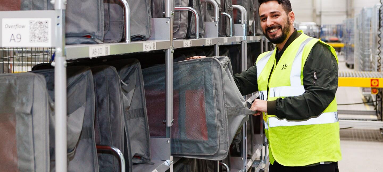 Amazon Logistics Liefertaschen