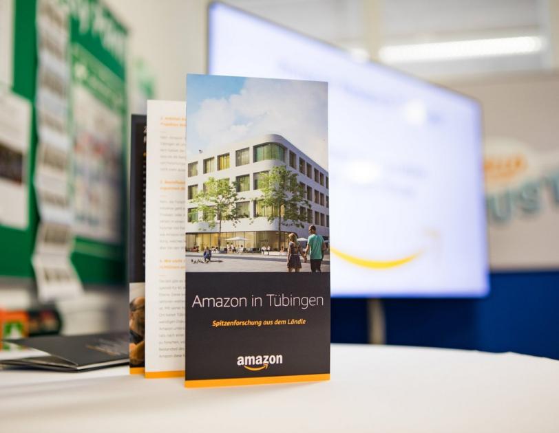 Open House Veranstaltung bei Amazon in Tübingen