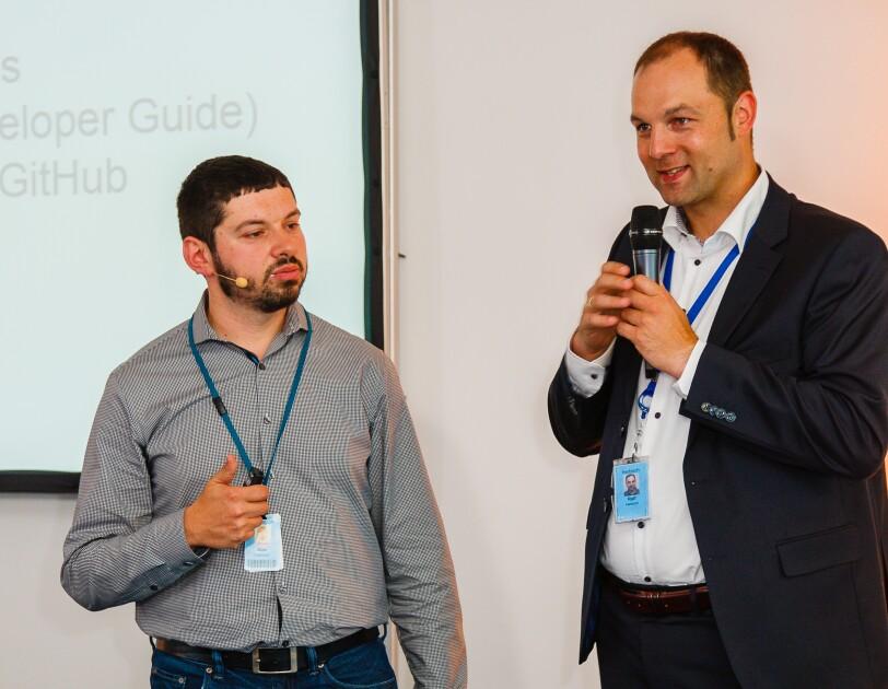 Alex Ingermann und Dr. Ralf Herbrich