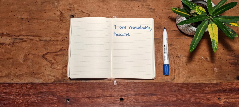 I am remarkable bei Amazon_#Iamremarkable