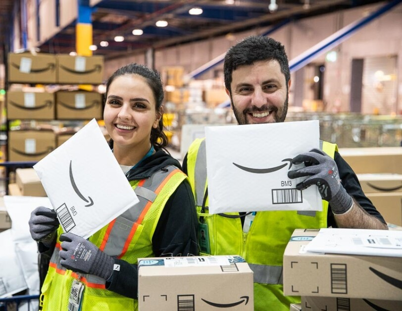 Amazon associates in our Australia fulfillment center