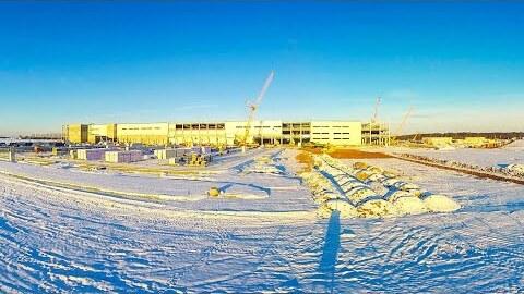 Das neue Amazon Logistikzentrum in Gera
