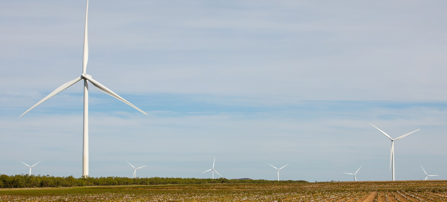 our largest wind farm yet introducing amazon wind farm texas