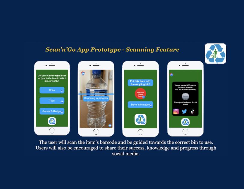 Gaelcholáiste Luimnigh App Idea Prototype