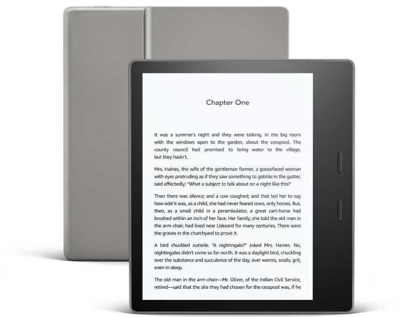 All-new Kindle Oasis (graphite)