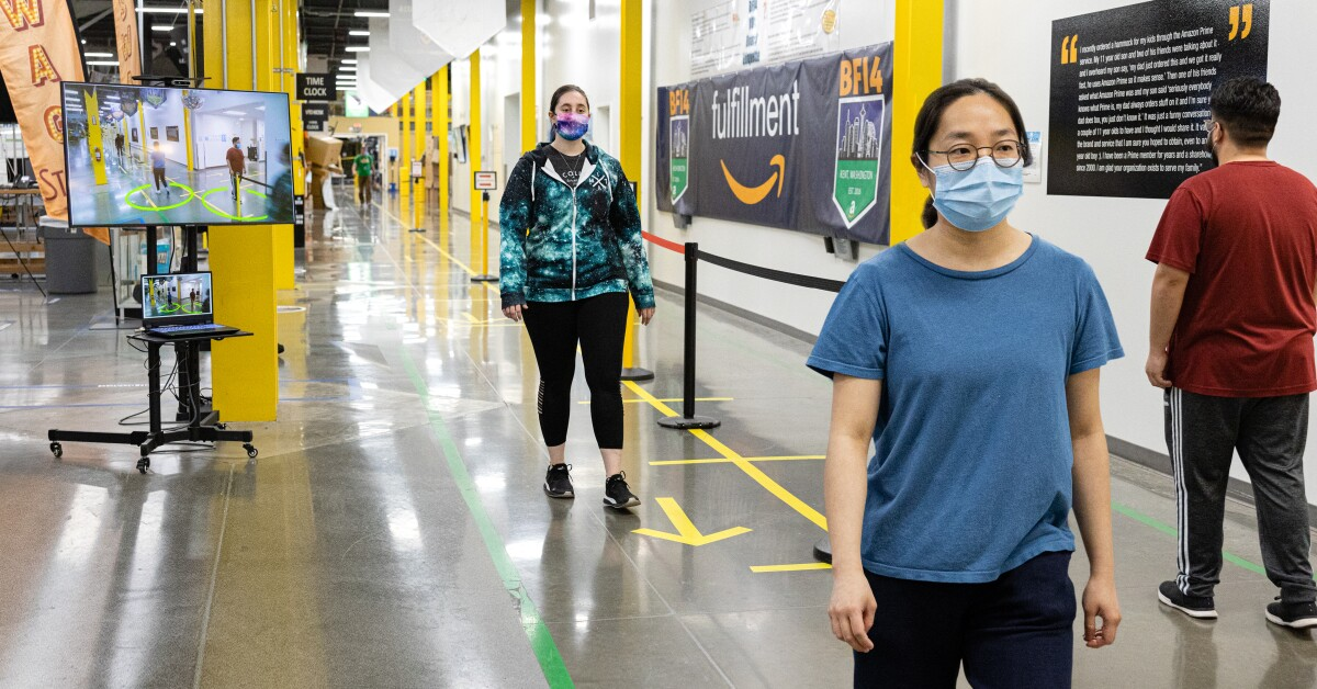 Amazon introduces 'Distance Assistant'
