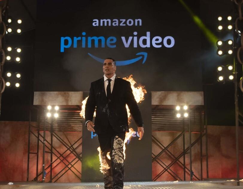 Akshay Kumar show Amazon India