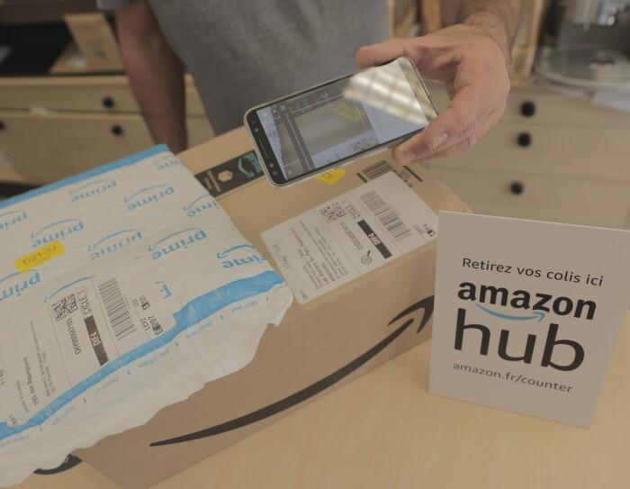 Amazon Counter - Un service de proximité très pratique