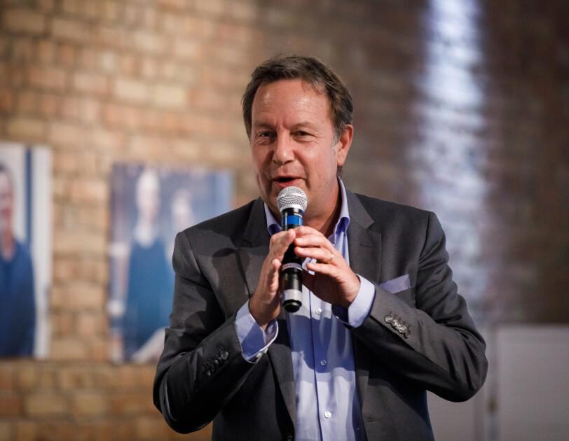 Ralf Kleber, Country Manager Amazon.de, bei der digital.engagiert Preisverleihung.