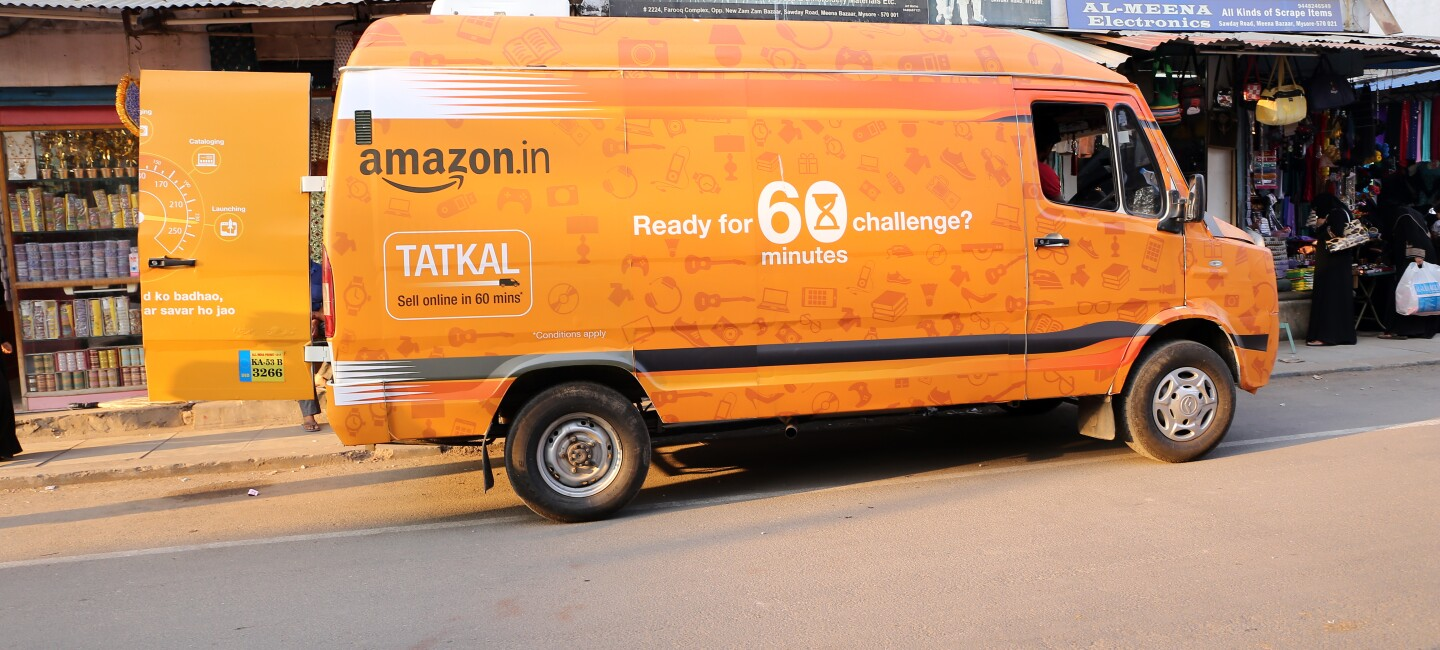 Amazon Tatkal van