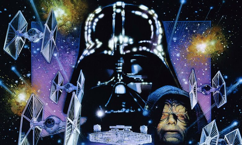 Movie poster for the Empire Strikes Back