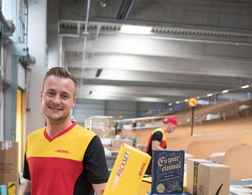 Timo Klawikowski von DHL