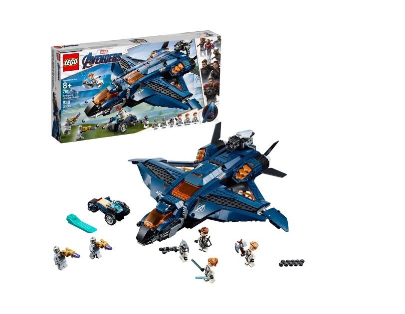 LEGO Captain America 76126 Avengers Ultimate Quinjet