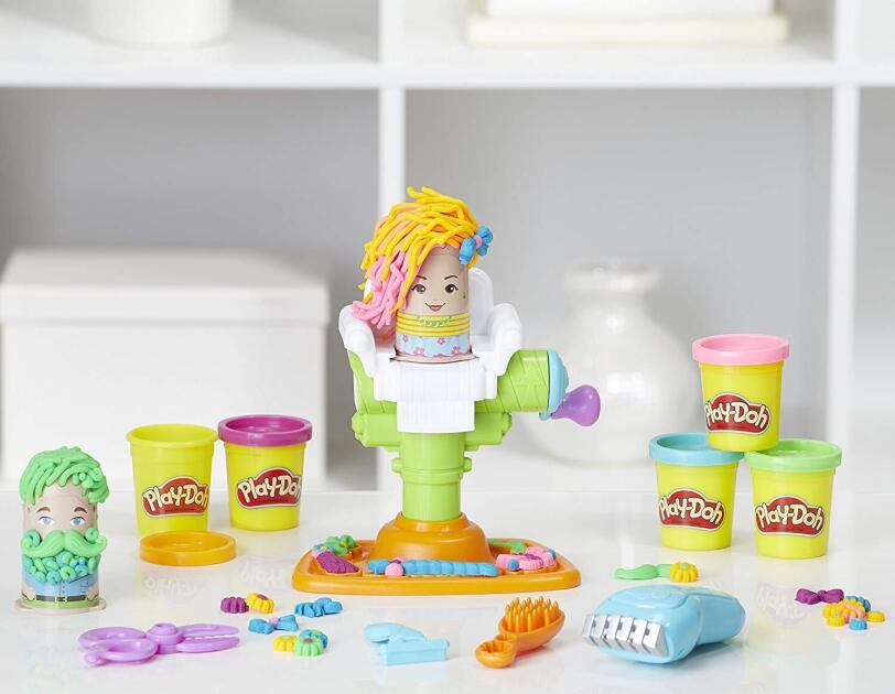 Abbildung der Play-Doh Freddy Friseur Knete von Hasbro, erhältlich auf Amazon.de.