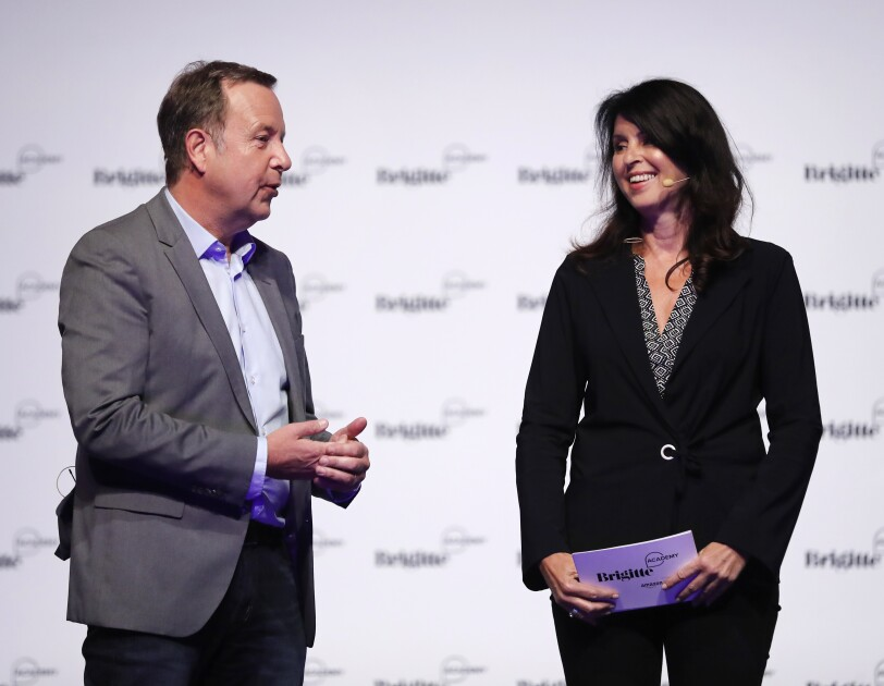 Ralf Kleber und Brigitte Huber
