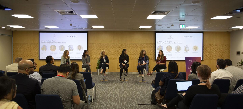 Women@ panel during AWS summit in Dubai