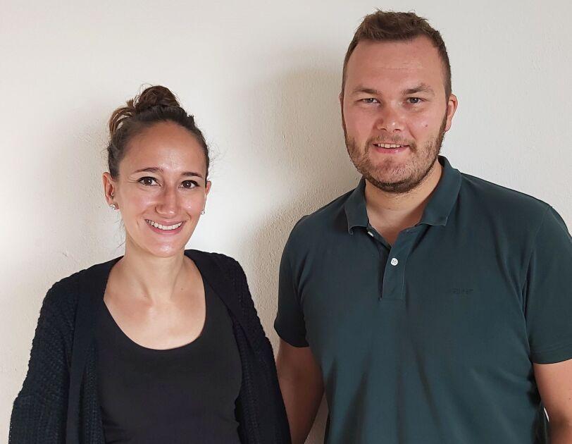 """Rebekka und Sebastian von """"HiLo Sports"""""""