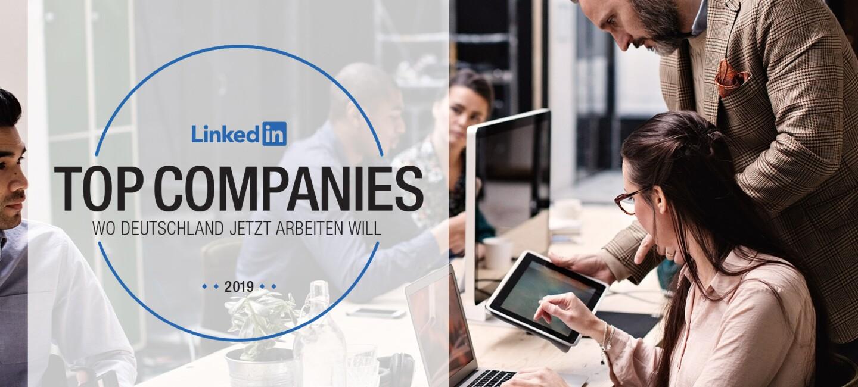 top-companies-germany-Amazon belegt Platz 10_ Das Bild zeigt das Logo der Top Companies von LinkedIn