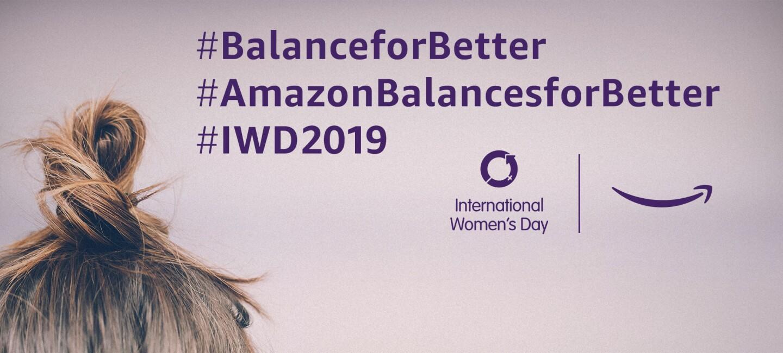 Amazon_WomensDay_Blog_Titelgrafik mit Logos