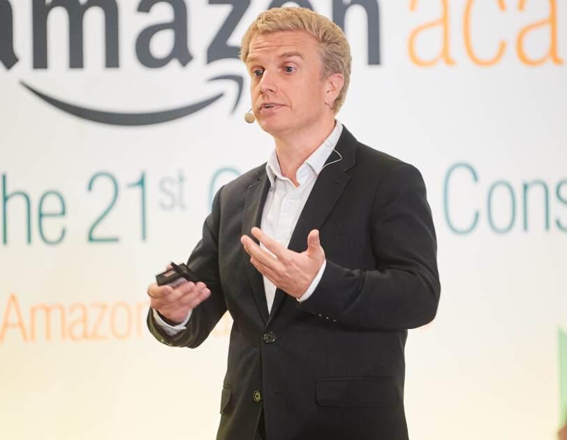 Malcom Pinkerton at Amazon Academy