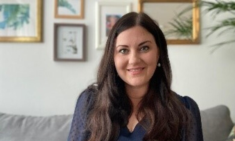 Image of Corinna from the virtual new joiner series