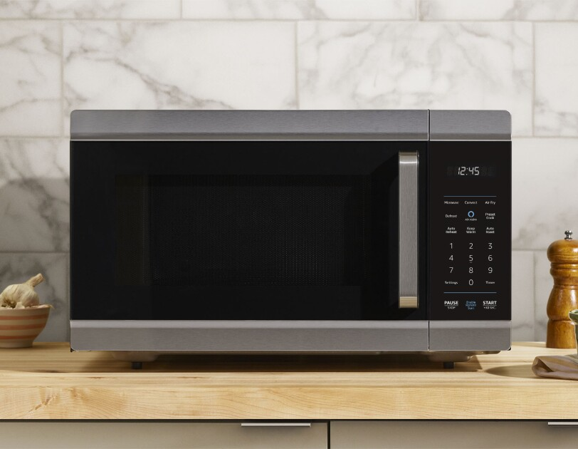Amazon Smart Oven in a kitchen