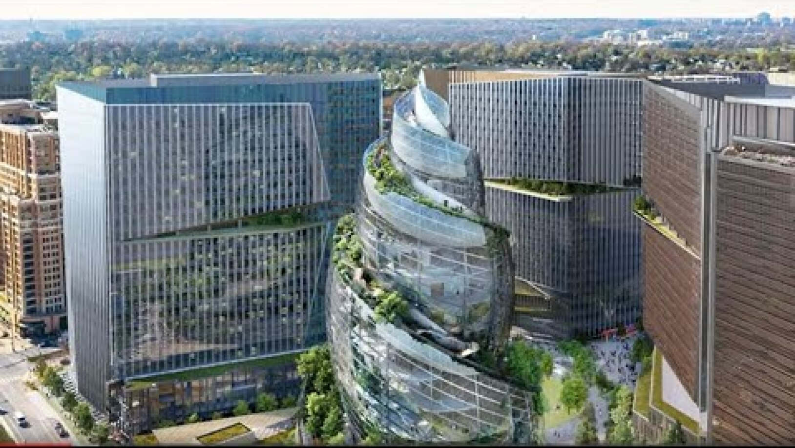 Amazon's Arlington Headquarters