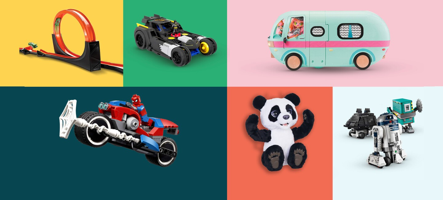 Six of the most popular toys of 2019 including Hot Wheels, Lego, and LOL dolls.