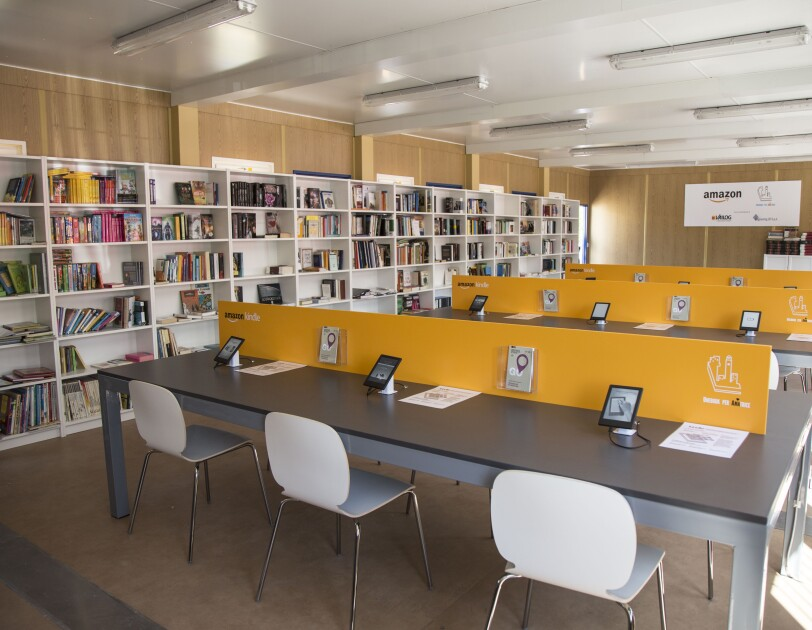 Amatrice library inside