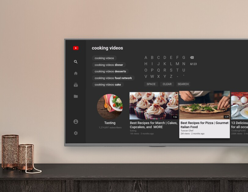 YouTube on Amazon Fire TV