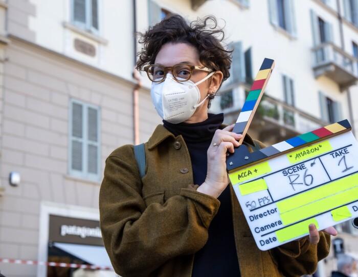 Anna Passarini, Amazon Originals, con un ciak
