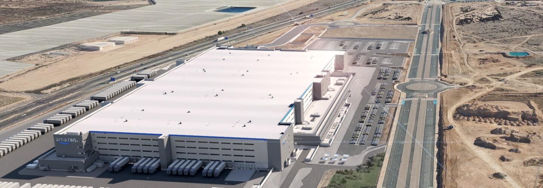 New robotics Fulfillment Center RMU1 being built in Murcia, Spain