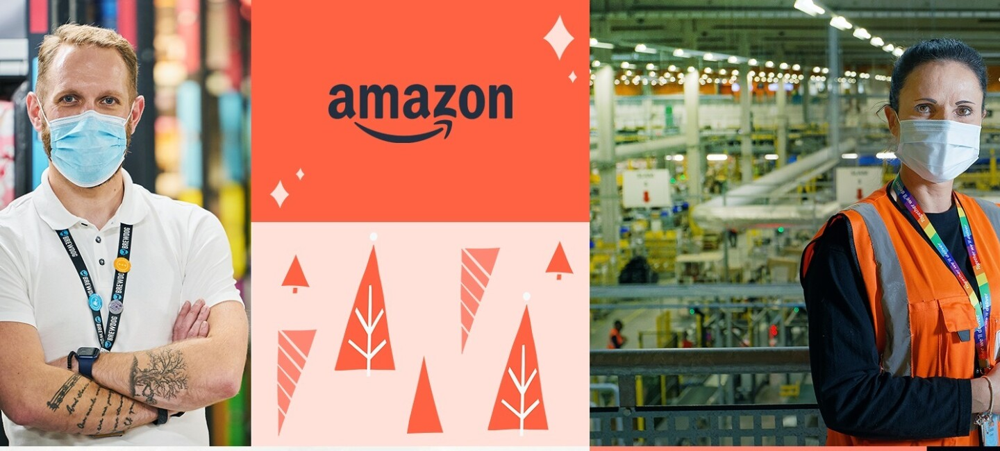 Amazon banner for Black Friday