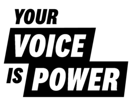 Your Voice Is Power