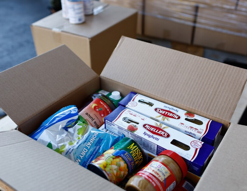 Amazon flex drivers help deliver food shelf items to underserved and vulnerable neighbors