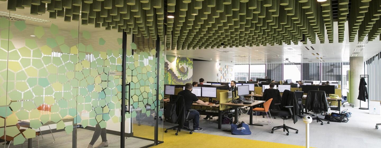 Amazon office interior in Barcelona