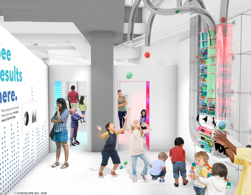 rendering of Data Science Alley at the D.C. Science Museum