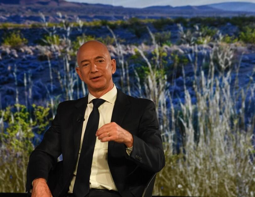 Jeff Bezos erhält den Axel Springer Award für Innovation