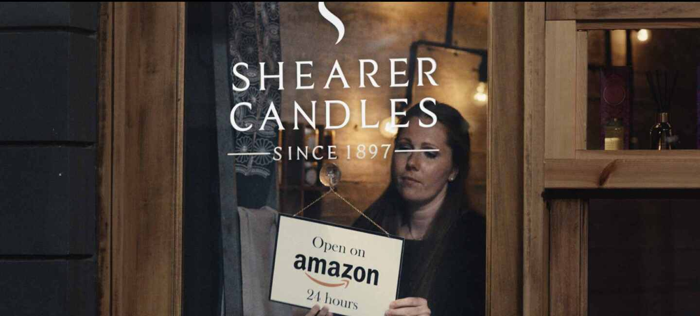 Shearer Candles Amazon Ad
