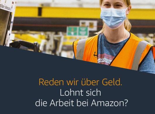 Lohnt sich die Arbeit bei Amazon? Amazon antwortet