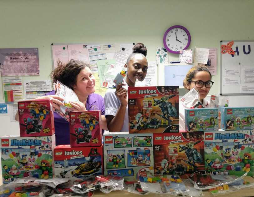 The TOY Project has delivered toys to hospital wards and children of NHS workers