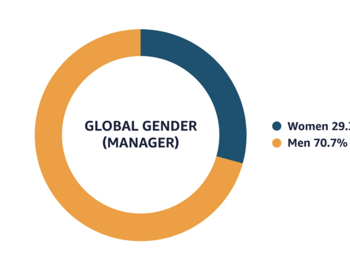 Amazon global gender managers