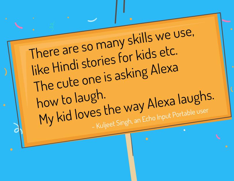 Alexa testimonials