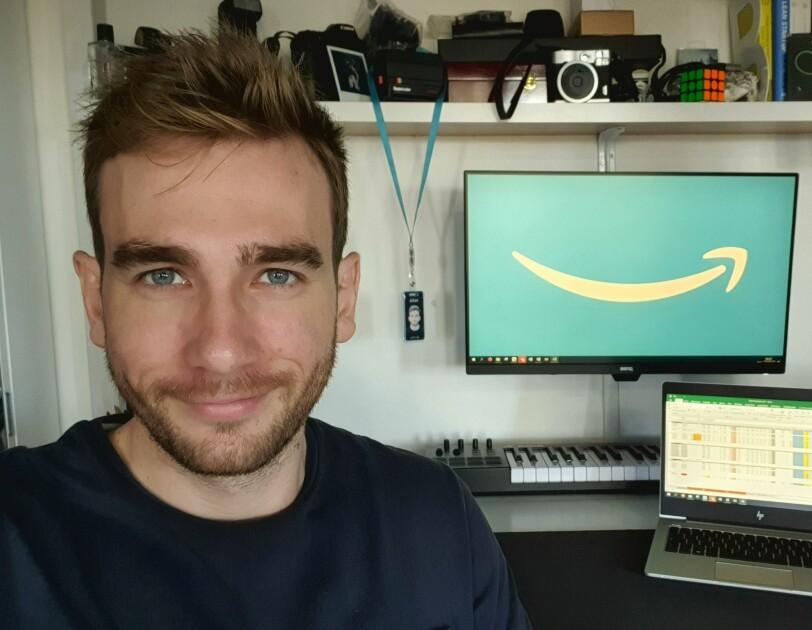 Julien, student joining Amazon's program